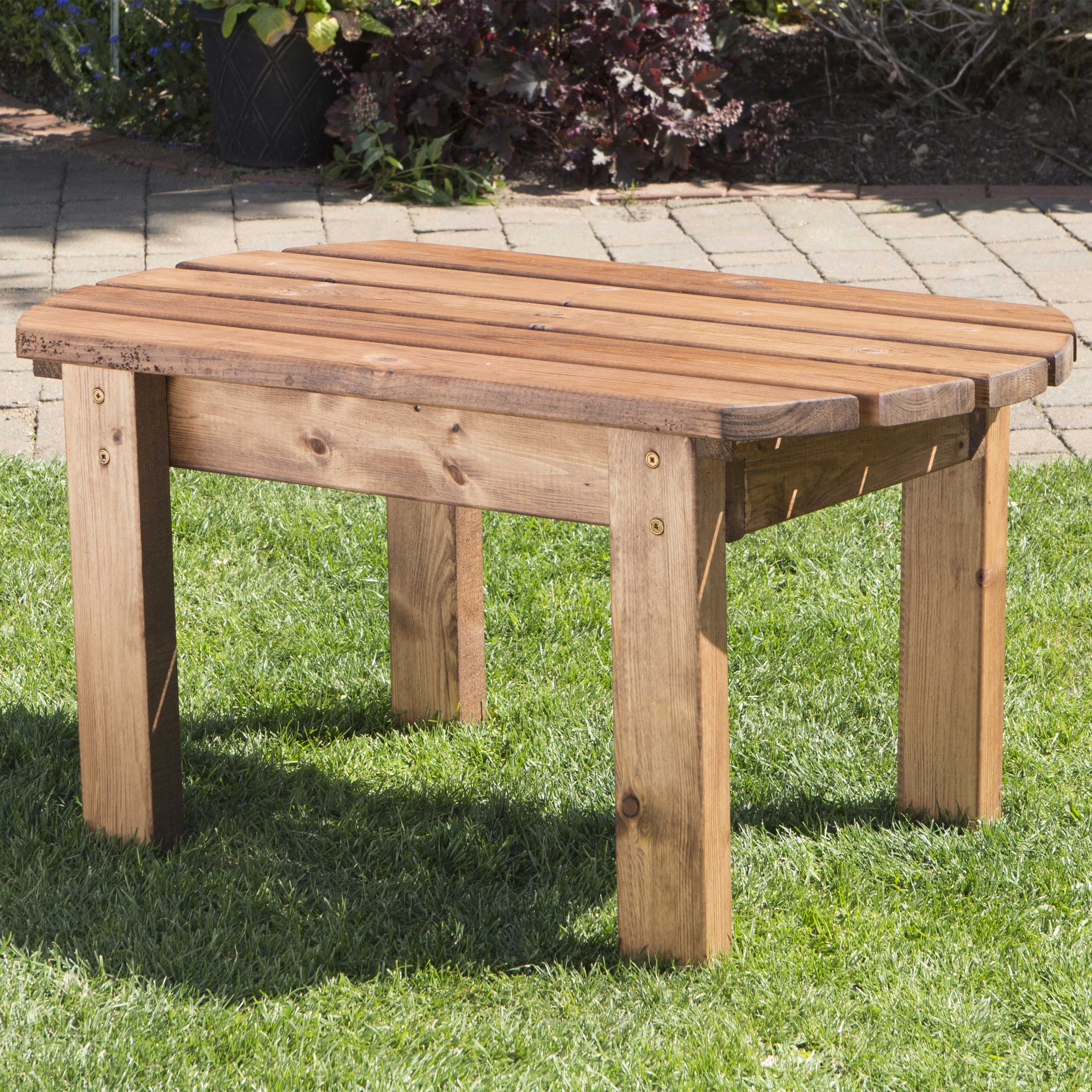 Redwood Collection Traditional Coffee Table