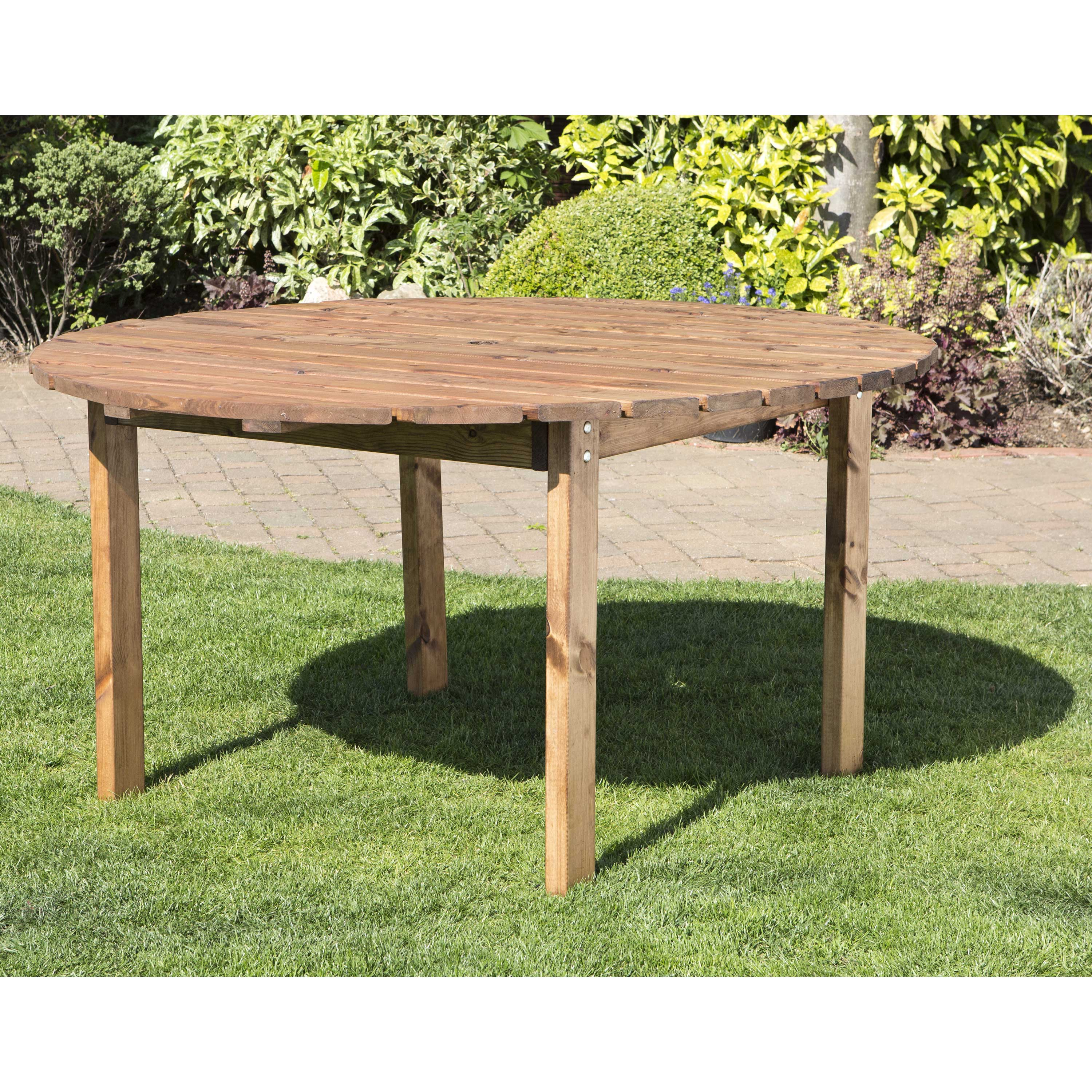 Redwood Collection Six Seater Round Table