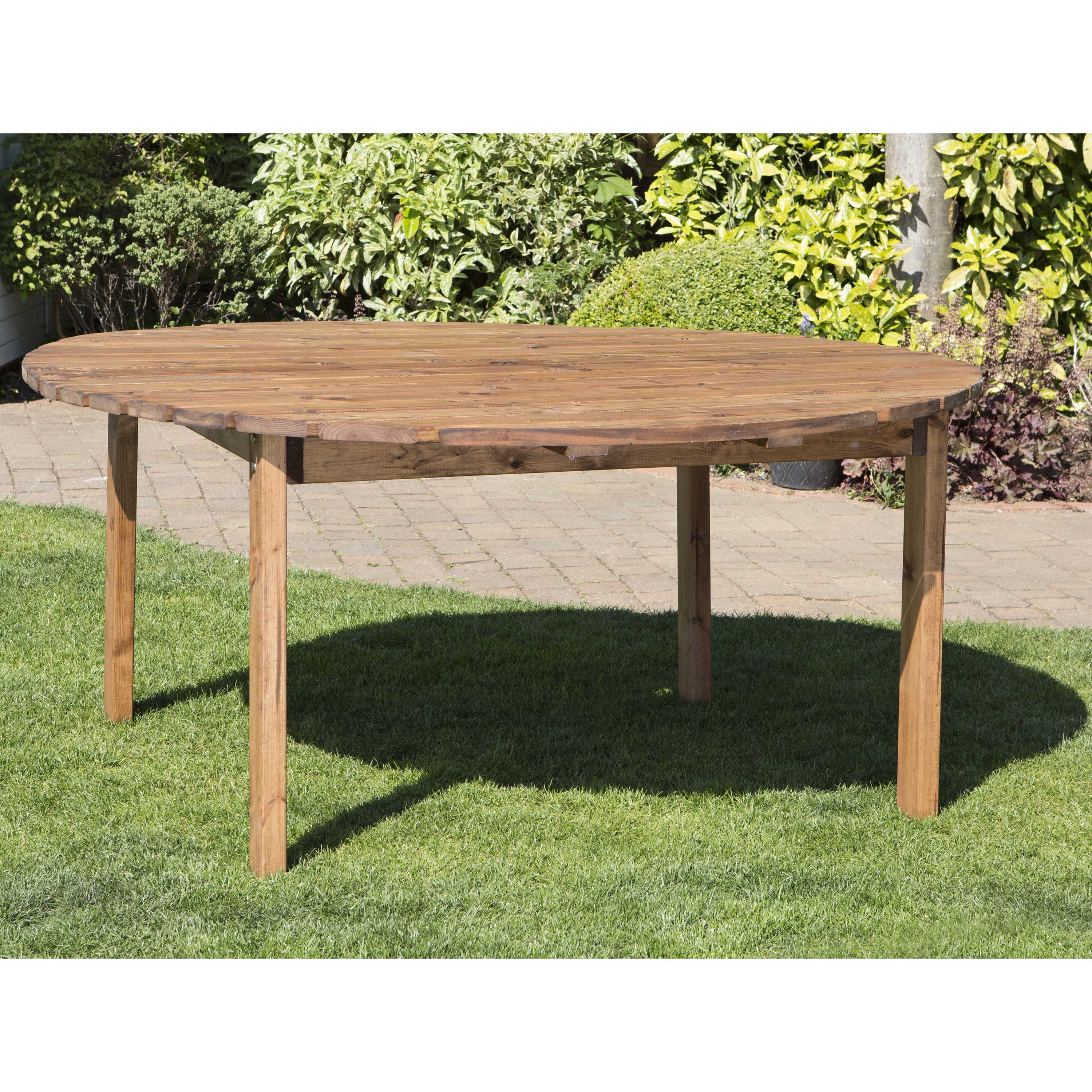 Redwood Collection Eight Seater Round Table