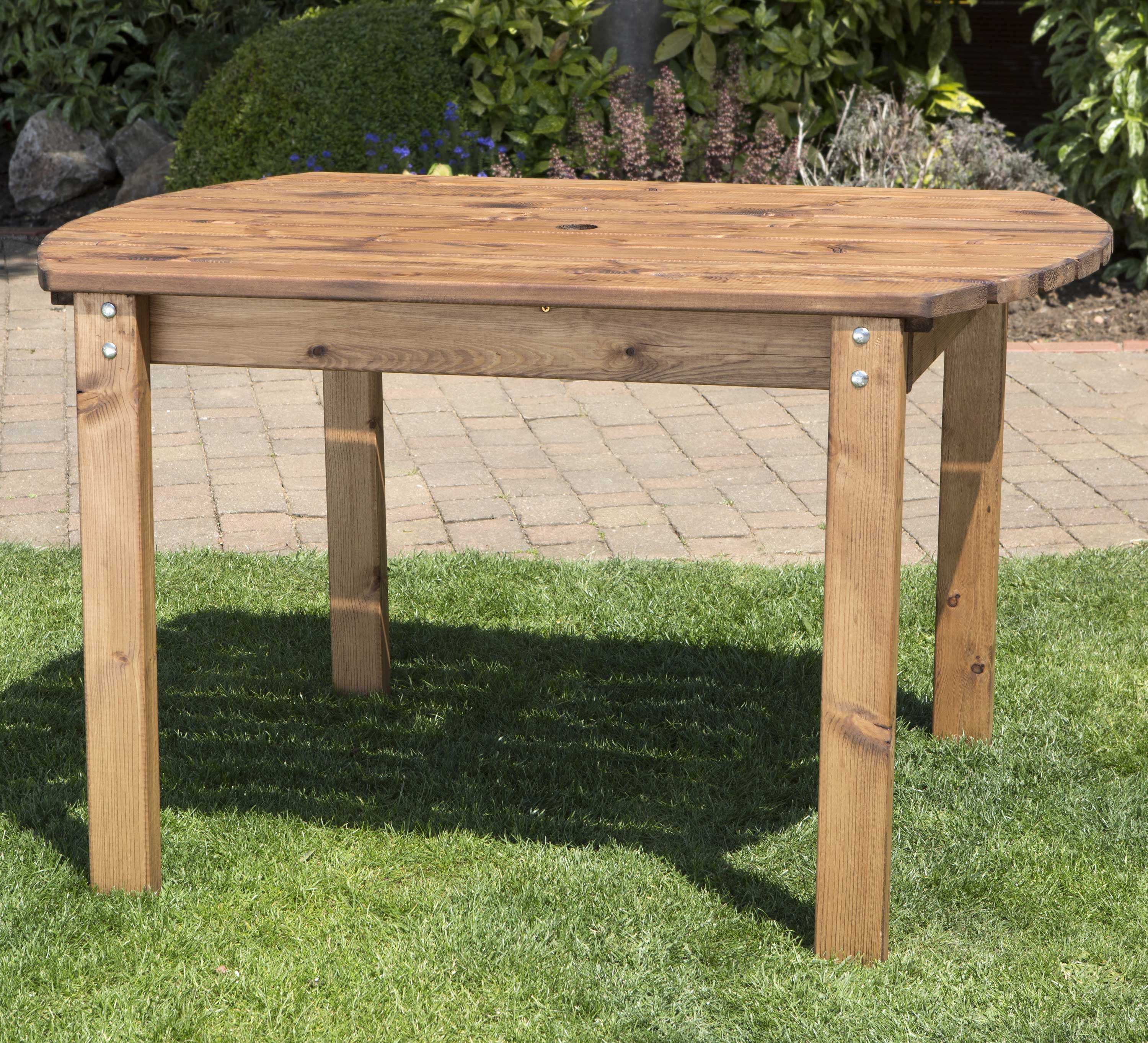 Redwood Collection Four Seater Rectangular Table