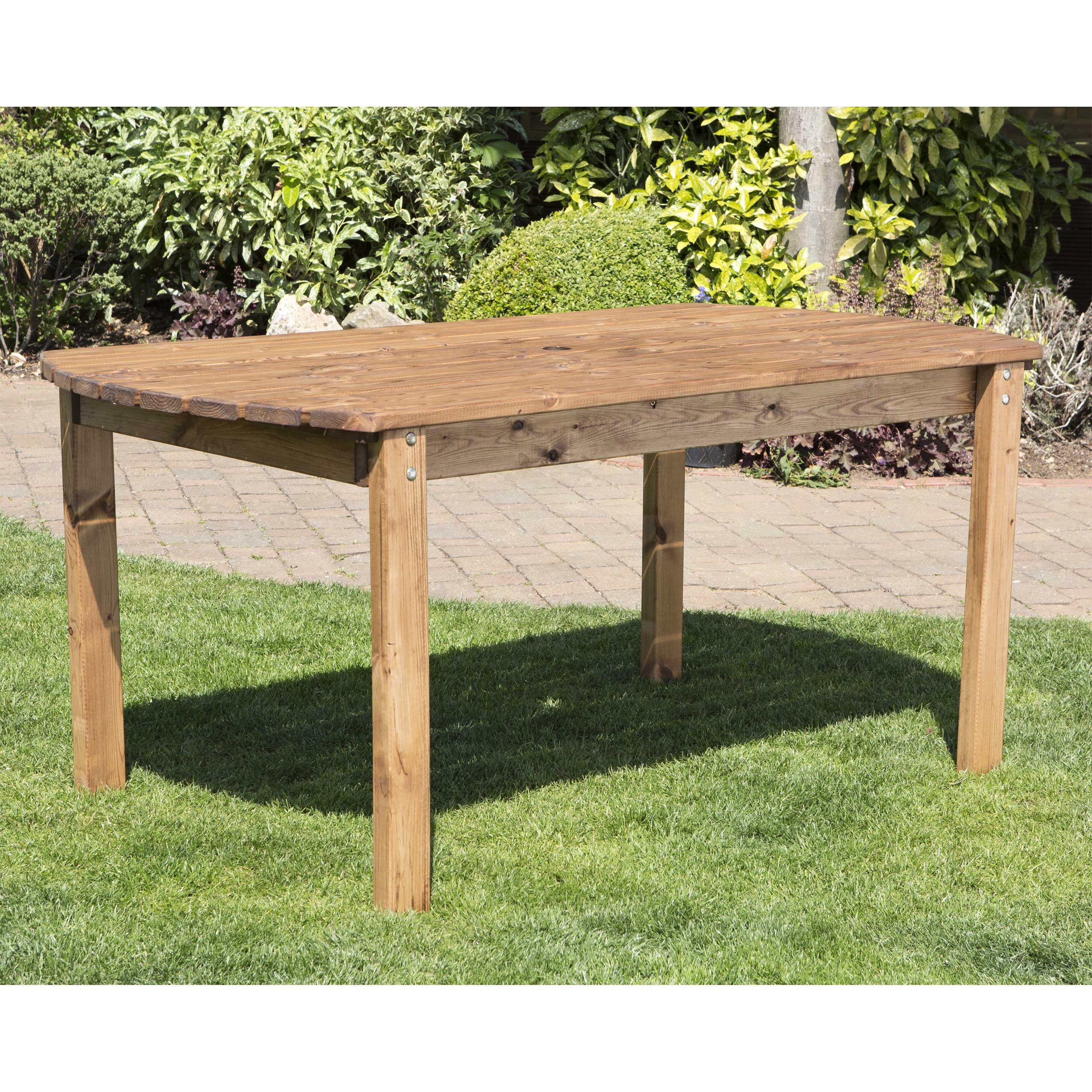 Redwood Collection Six Seater Rectangular Table