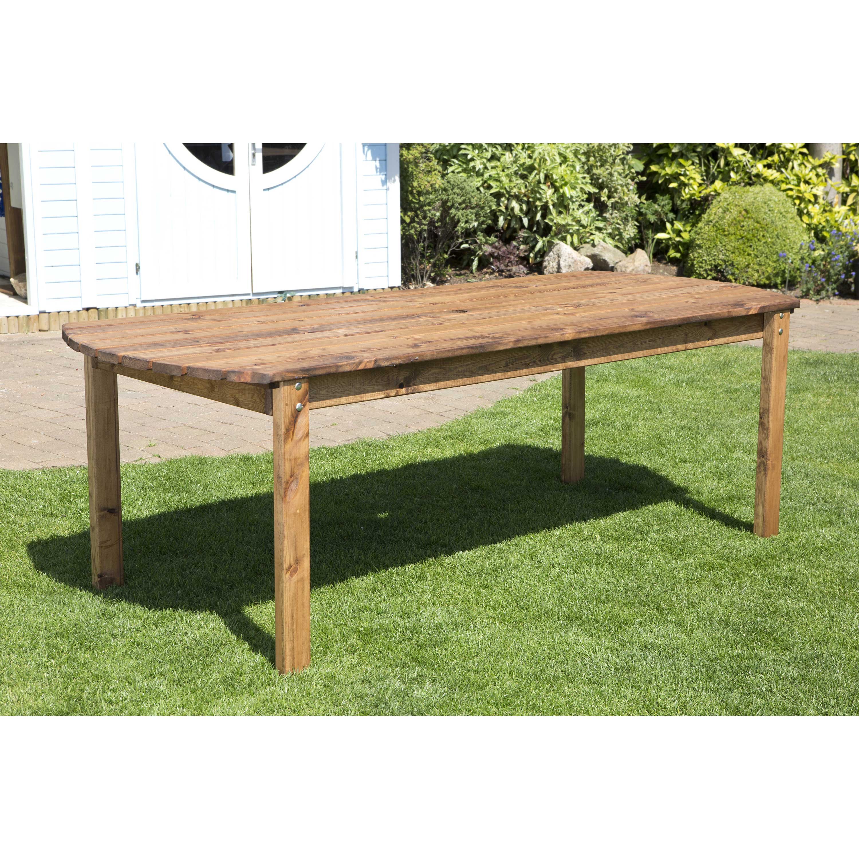 Redwood Collection Eight Seater Rectangular Table
