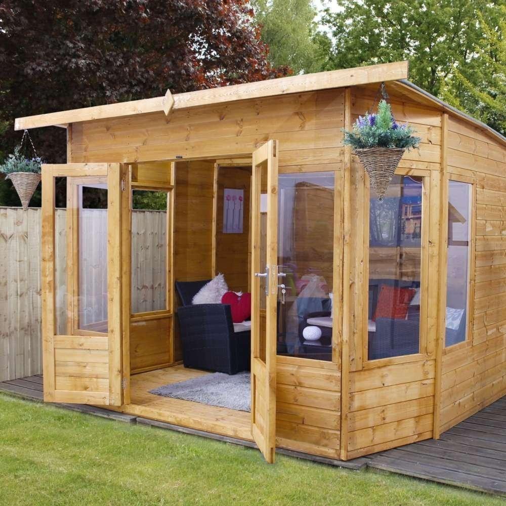 10' x 10' Premium Helios Summerhouse