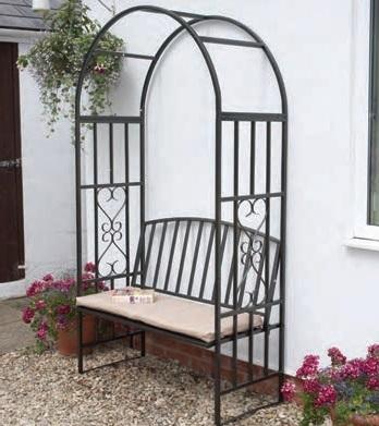 Huntingdon Arch, Bench and Cushion