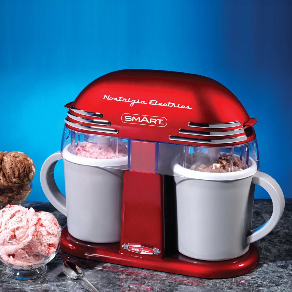 Retro Double Ice-Cream Maker