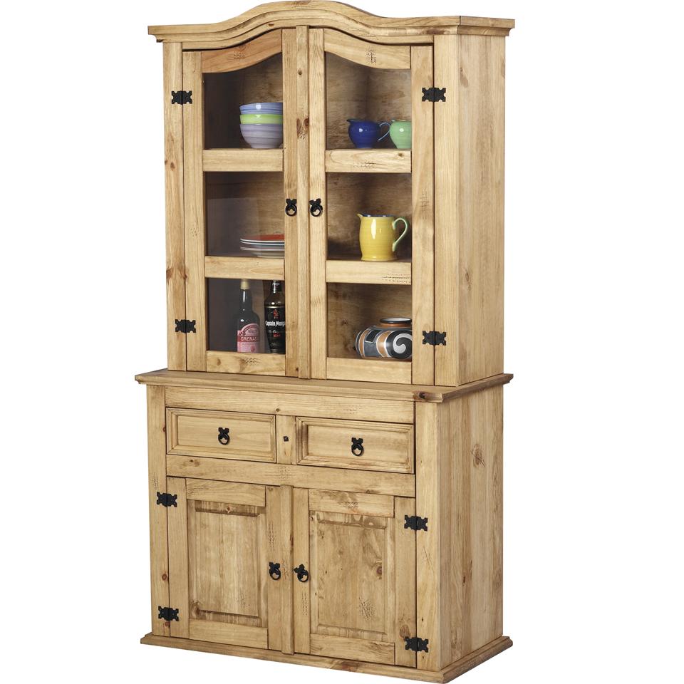 Cortez Corona Pine 2 Door 2 Drawer Buffet Dresser