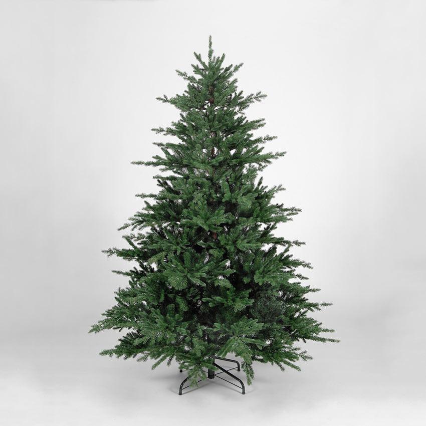 7ft/210cm Flat Rock Frasier Fir Green PE Premium Christmas Tree