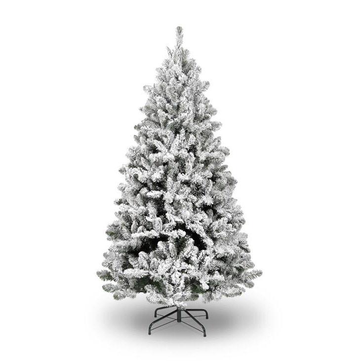 7.5ft Ice Queen Fir Flocked Artificial Christmas Tree