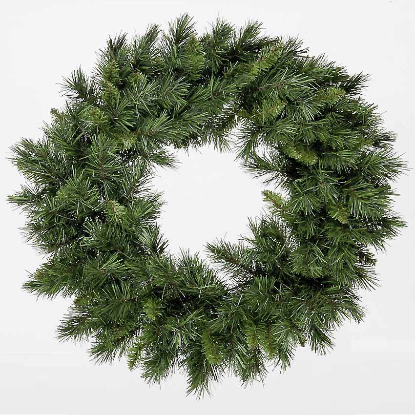 2ft Kateson Fir Green Wreath