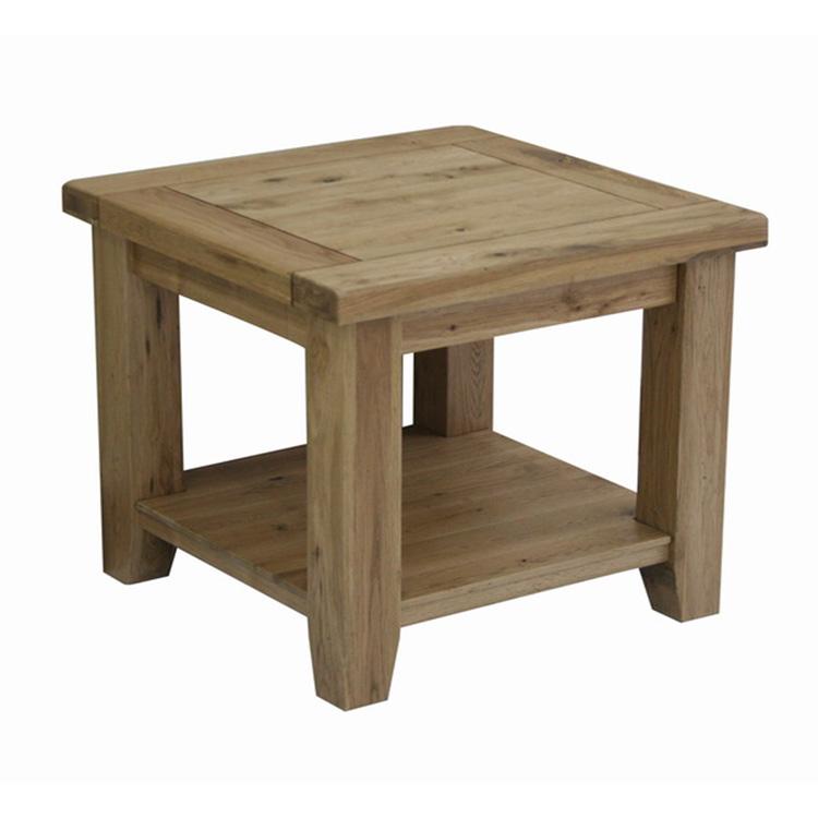 Java Oak Lamp Table