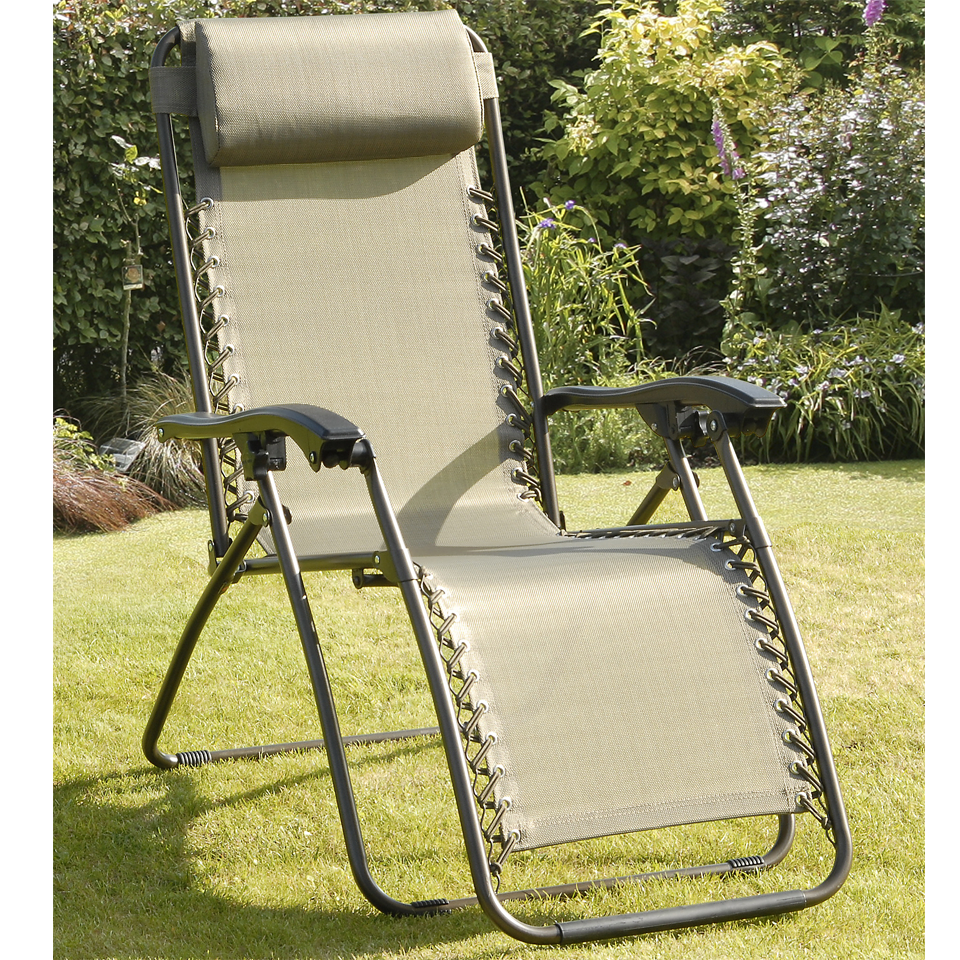 Set of 2 Copper Deluxe Royale Reclining Sunloungers
