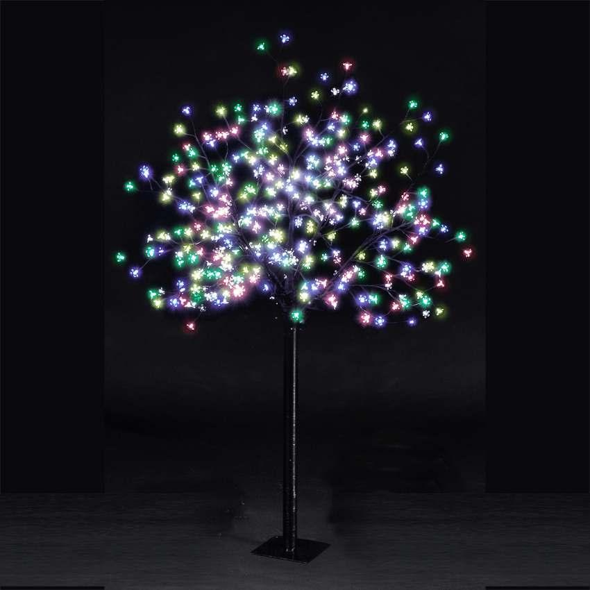 6ft Cherry Blossom Tree - 350 Multi-Colour LEDs