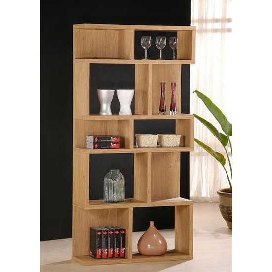 Living Collection Zig Zag Shelving Unit