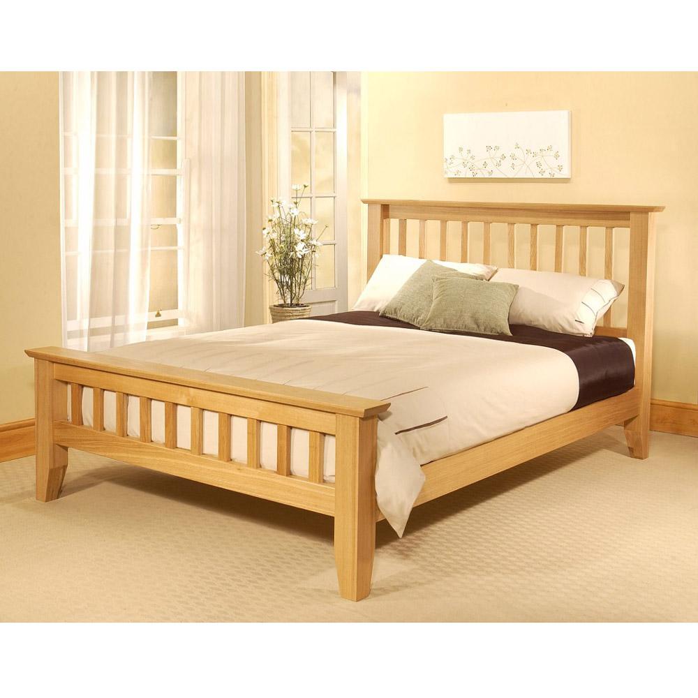 Limelight Phoebe 6ft Super King Size Oak Bed Frame