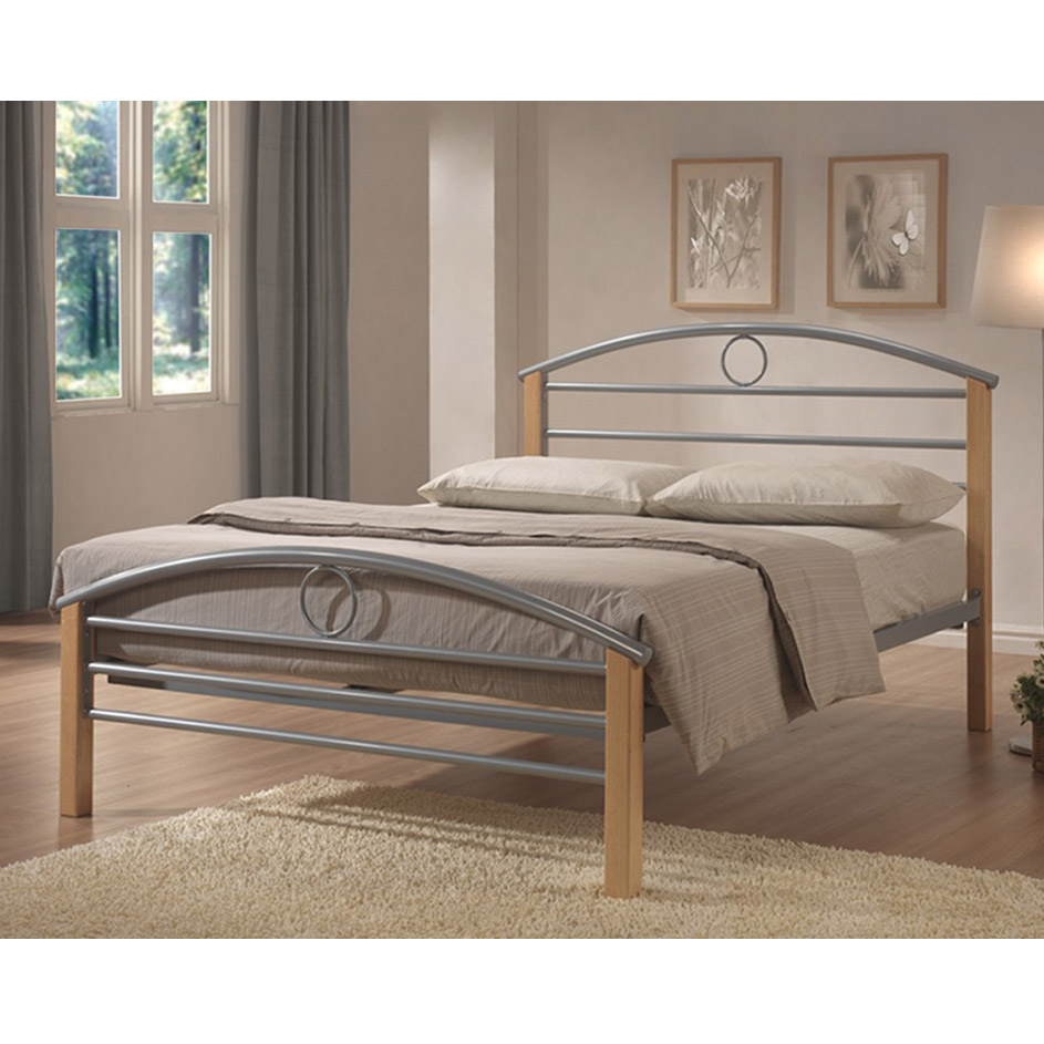 Limelight Pegasus 4ft Wood and Metal Double Bed Frame