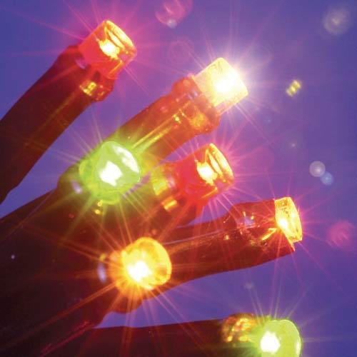 40 Multi-Colour Static LED Christmas Lights