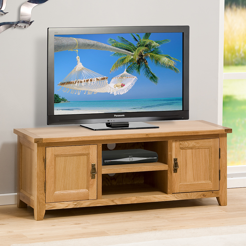 Stirling Oak 1.3m TV Unit