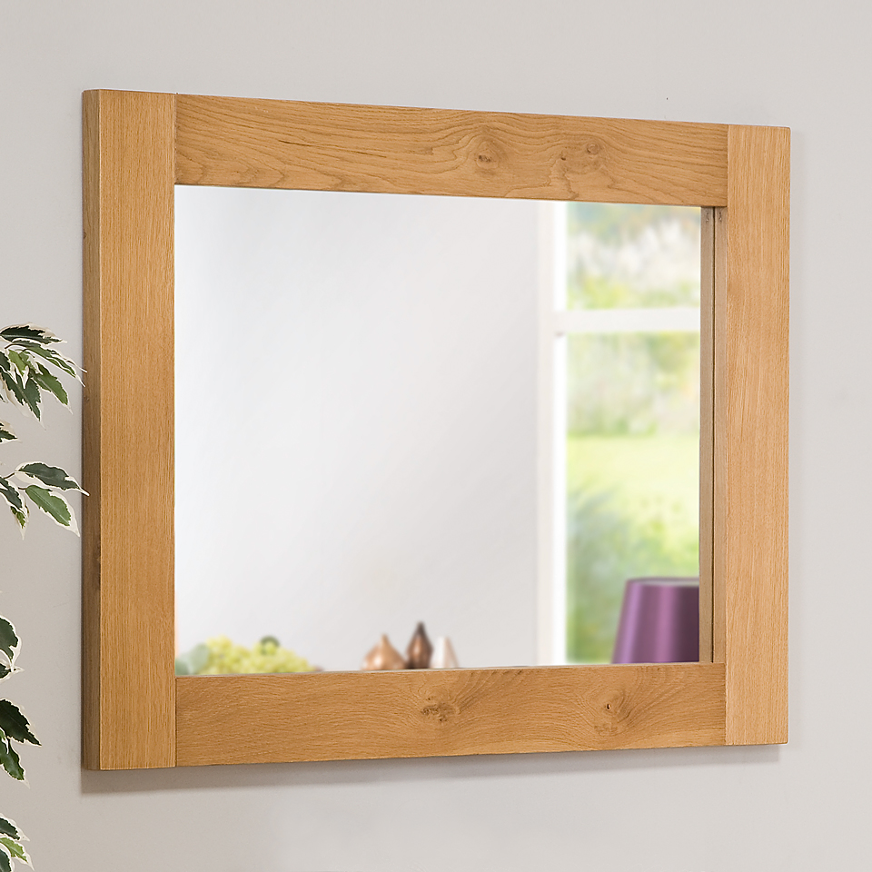 Image of Stirling Oak Framed Mirror