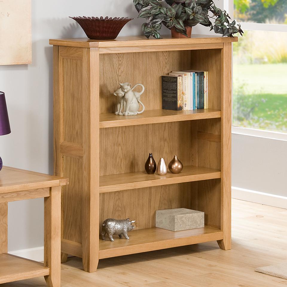 Stirling Oak Medium Bookcase