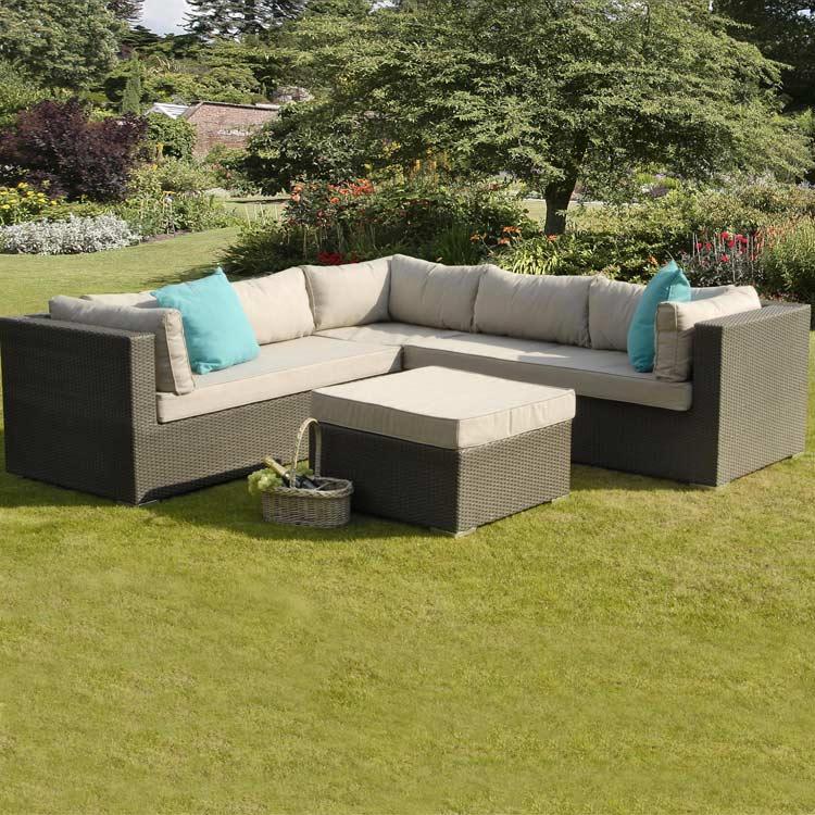 Fairhaven Rattan Corner Sofa