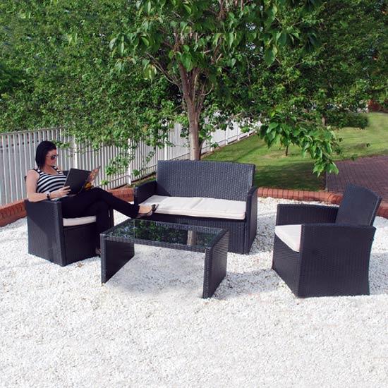 Ferrara Indoor and Outdoor Rattan Sofa Set