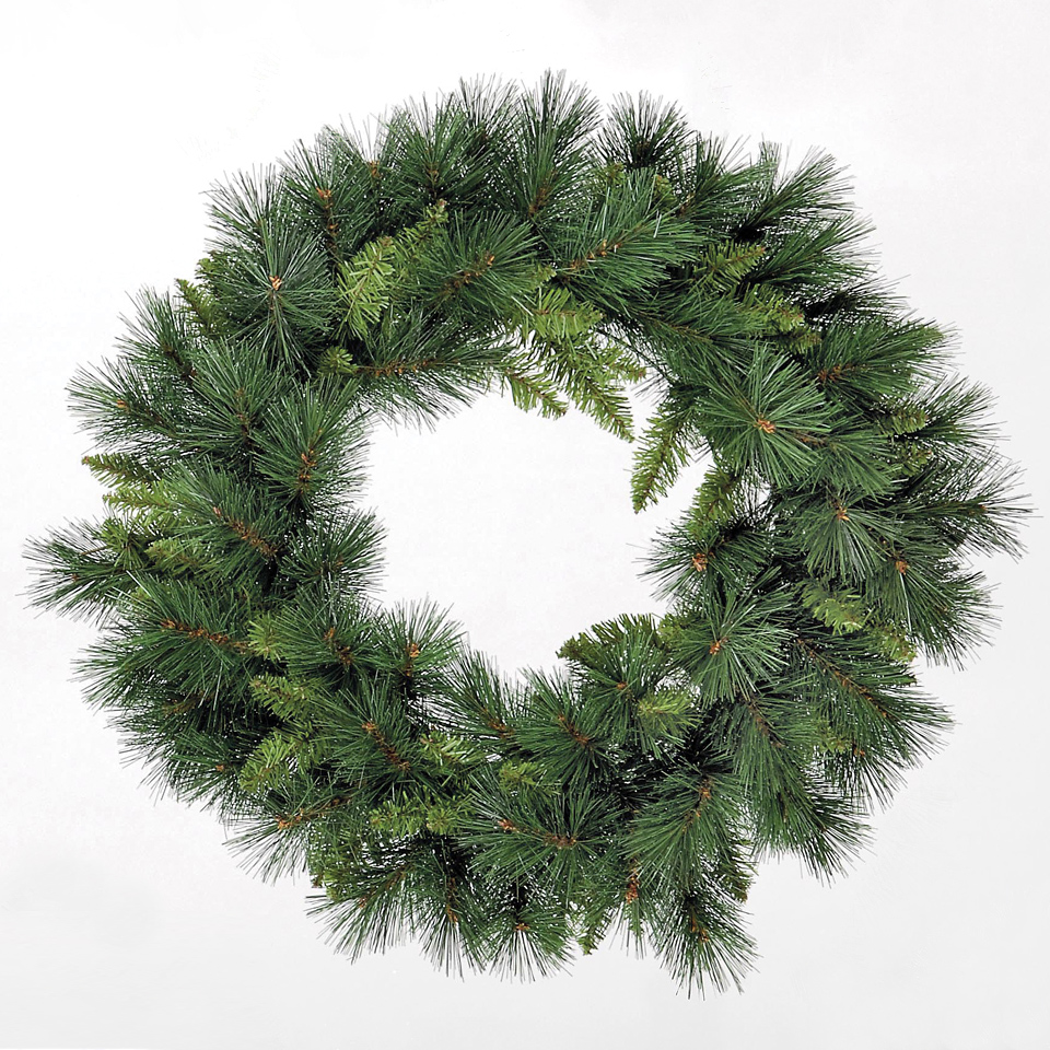 2ft Emerald Pine Green Wreath