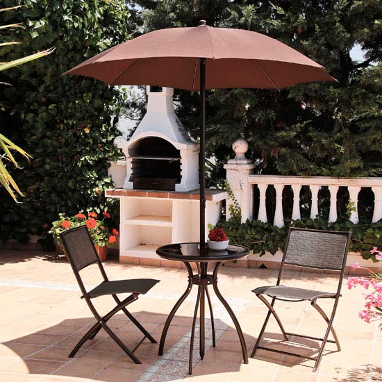 Havana 4 piece Bronze Bistro Set