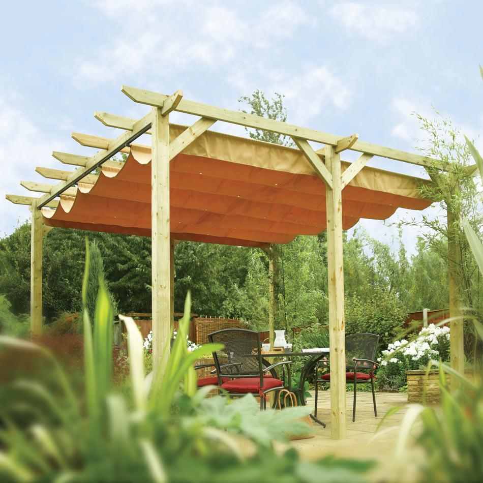 Verona Wooden Canopy