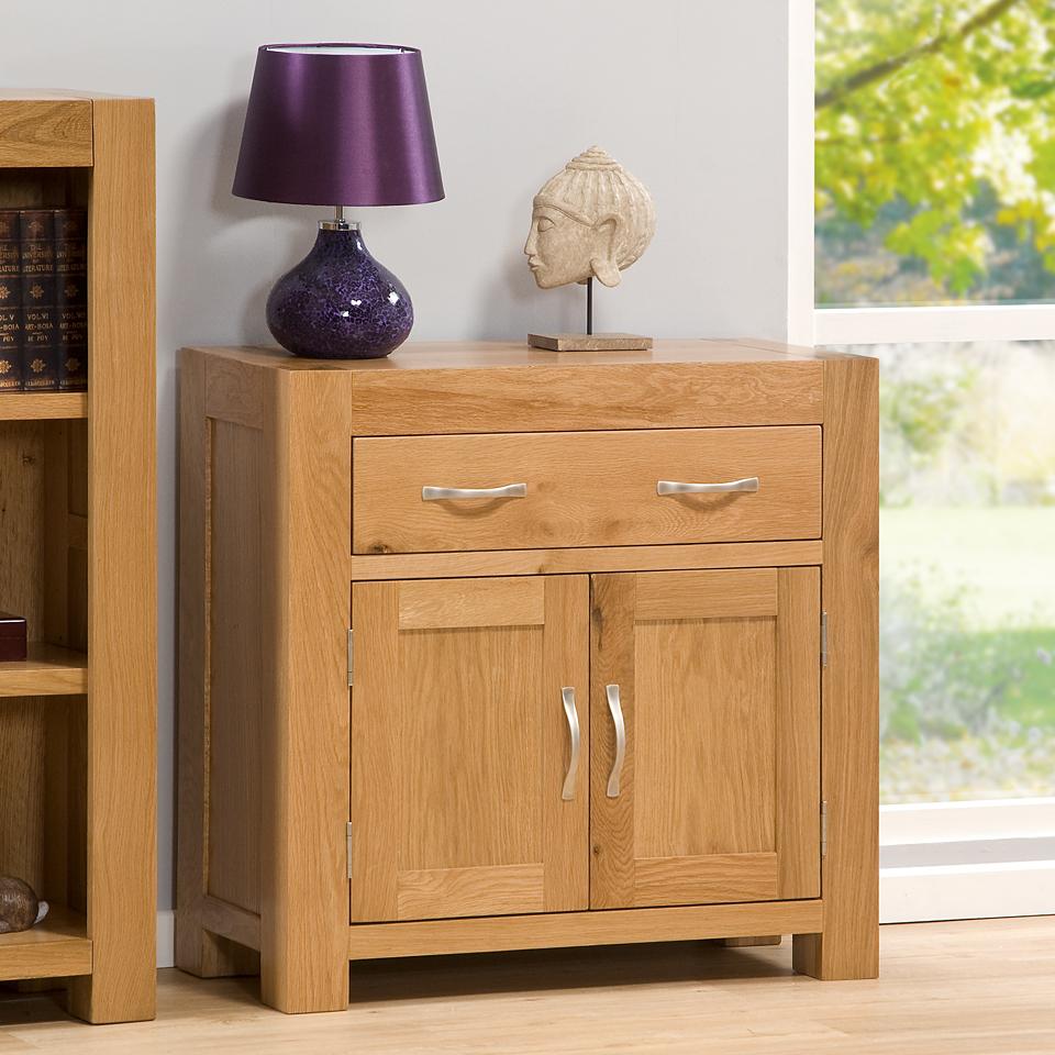 Suffolk Oak Single Drawer Sideboard