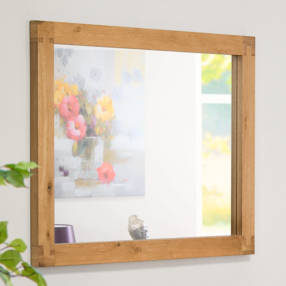 Image of Chepstow Oak Framed Mirror