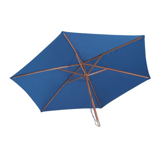 2.7m Blue Garden Parasol