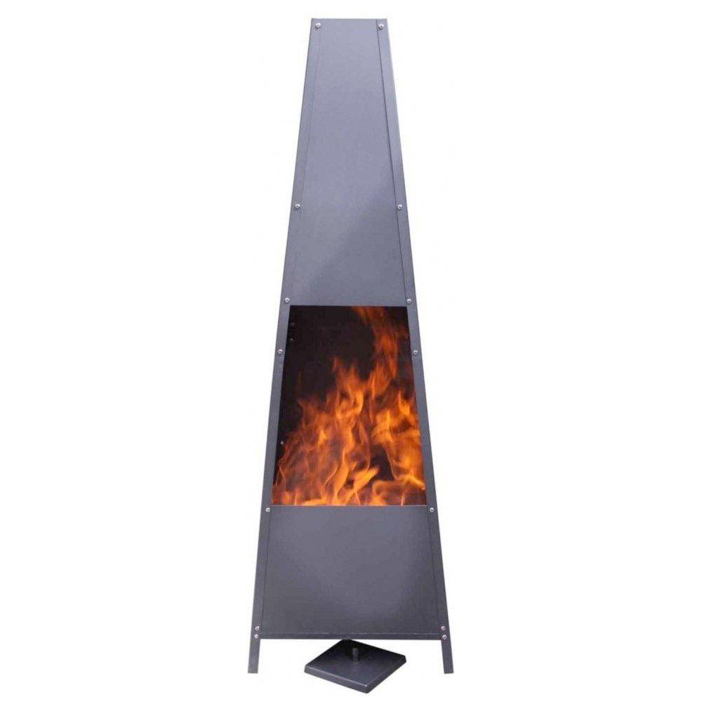 Alban Pyramid Fireplace - Extra Large