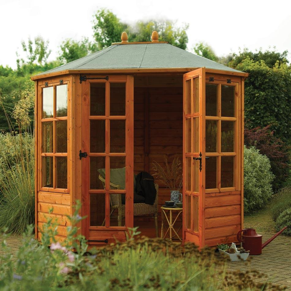 Ryton 8ft x 6ft Octagonal Summerhouse