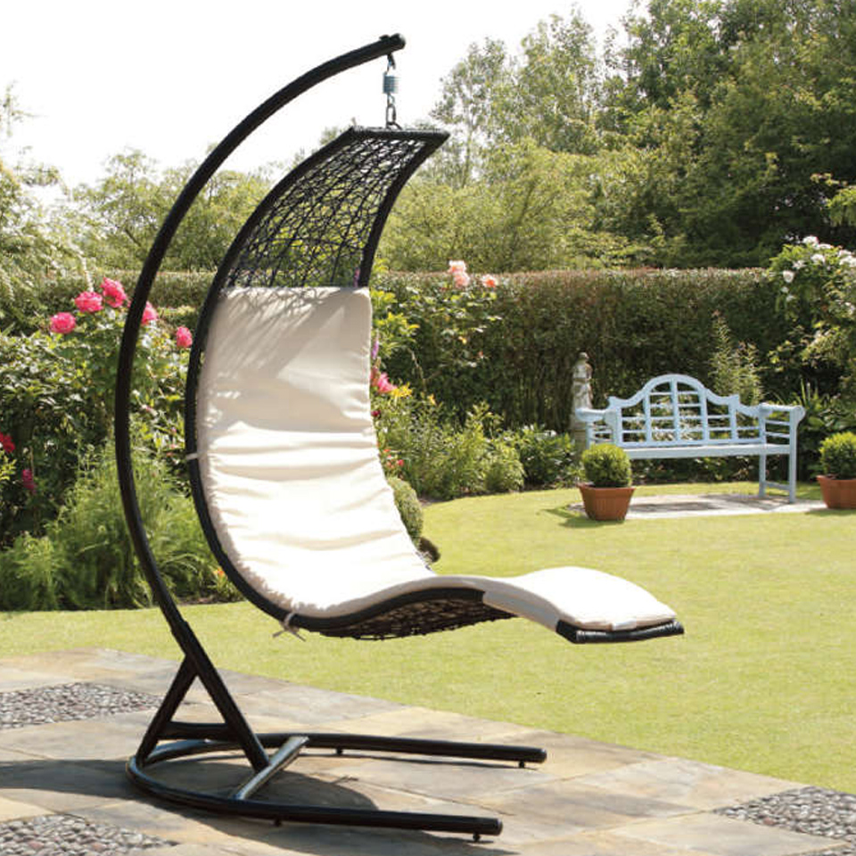 New products at gardens and homes direct garden and gardener - Garden furniture swing seats ...