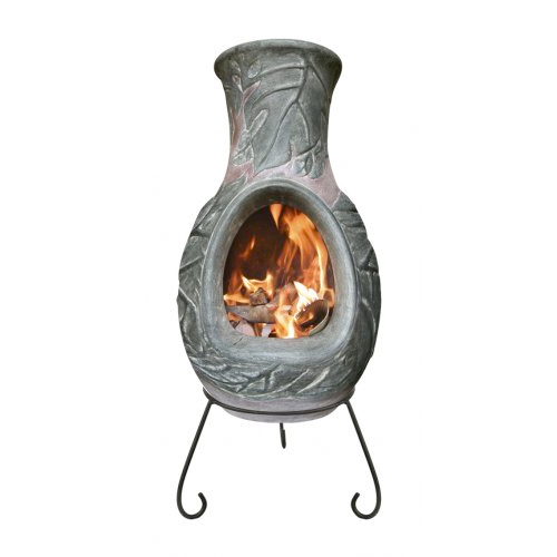 Earth Large Clay  Chiminea