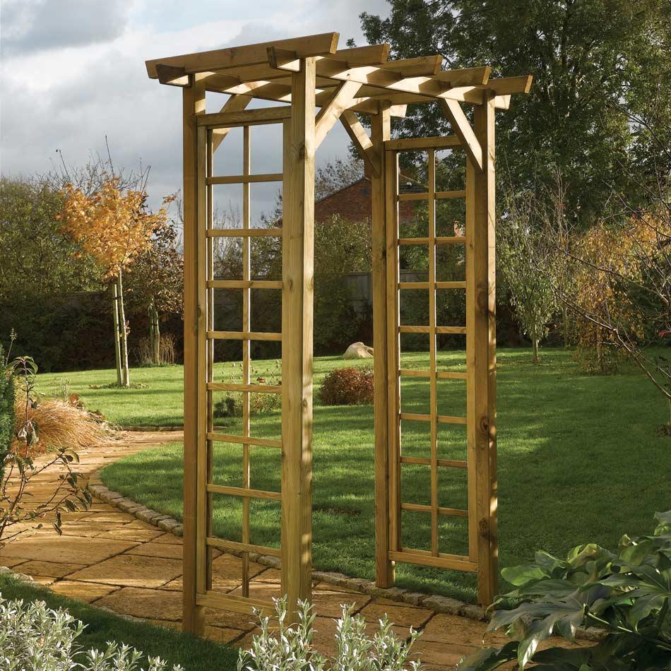 Square Top Garden Arch