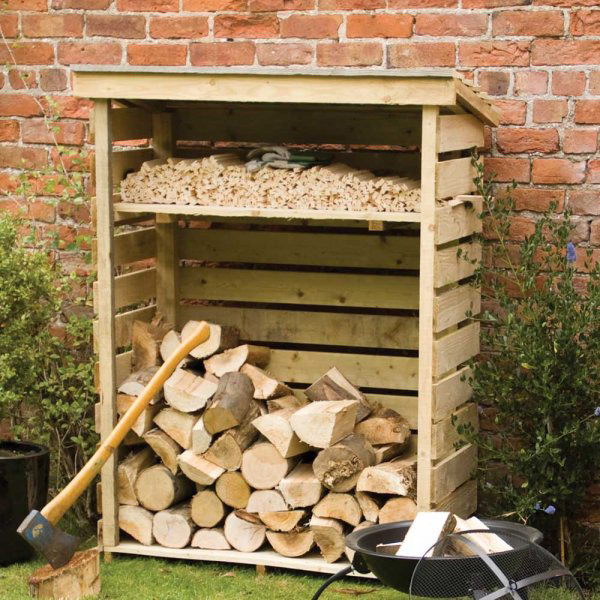 Small Timber Log Store