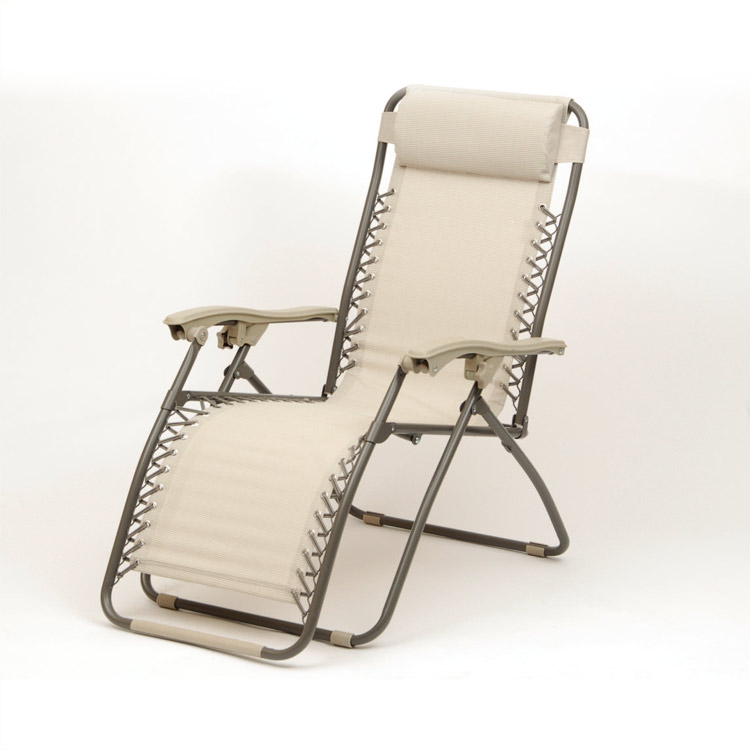 Set of 2 Cappuccino Deluxe Royale Reclining Sunloungers