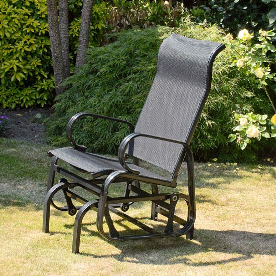 Suntime Havana Black Glider Chair