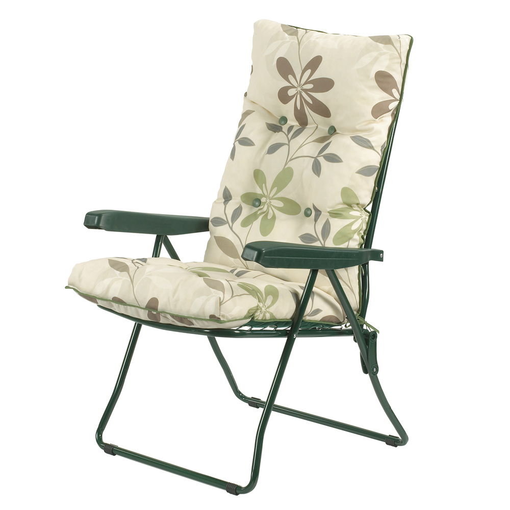 Clematis  Recliner Chair and Cushion