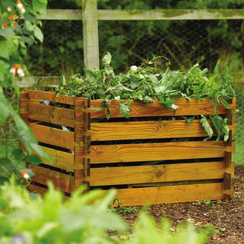 Open Frame Premium Solid Timber Composter