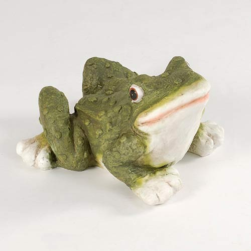 Green Leaping Frog Ornament