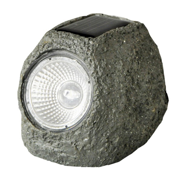 Pack of Four Solar Rock Lights