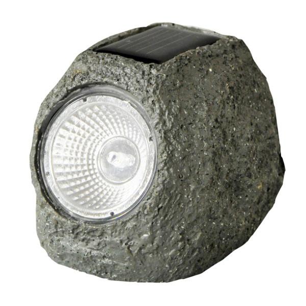 Pack of Four Solar Rock Lights