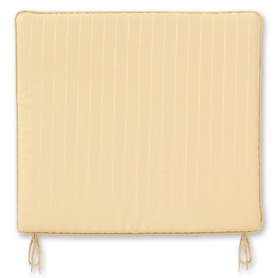 Jacquard Cream Medium Seat Pad