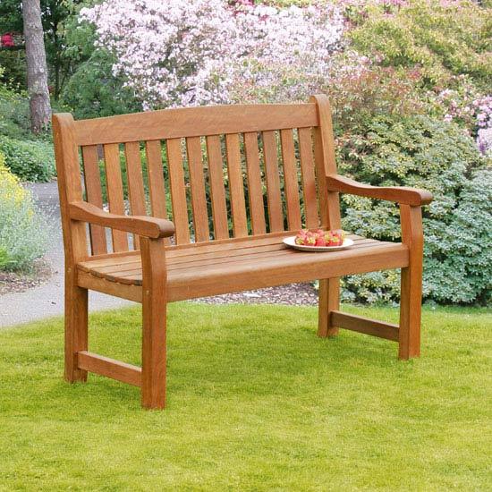 Balmoral 2 Seat Hardwood Garden Bench