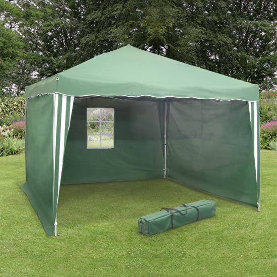 Side Panels for Green 2m  Pop Up Gazebo
