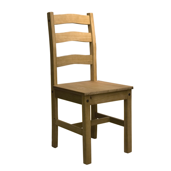 Santa Fe Antique Waxed Solid Pine Chair