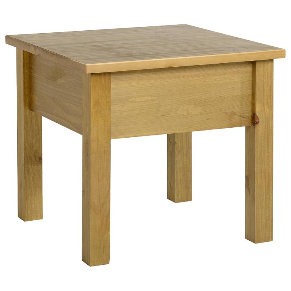 Ecuador Pine Lamp Table in Oak Style  Finish