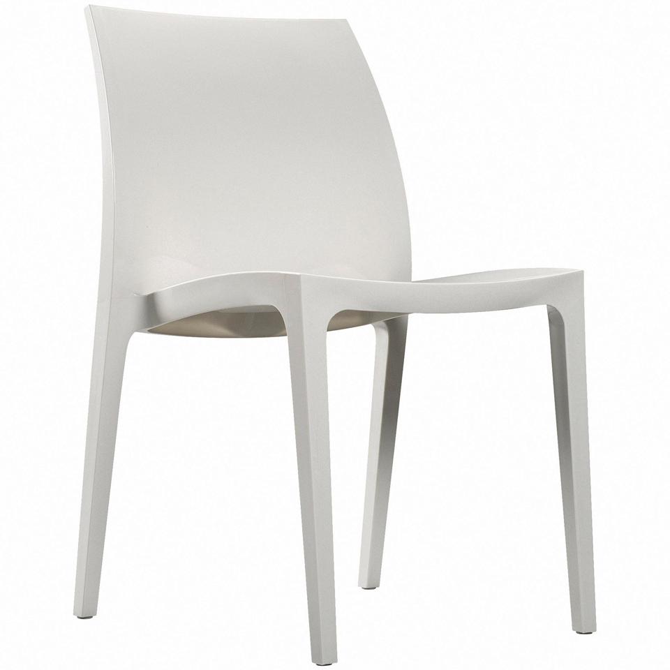 Set of 4 Allibert Sento White Dining Chairs